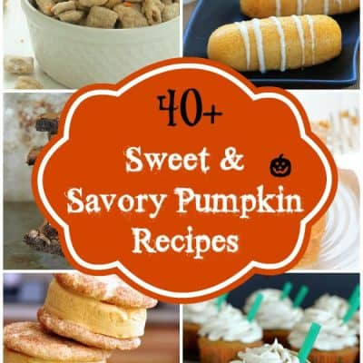 40+ Sweet and Savory Pumpkin Recipes via @galmission