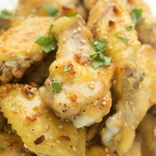 The Best Butter and Garlic Chicken Wings