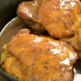 Mouthwatering Maple-Mustard Chicken Thighs
