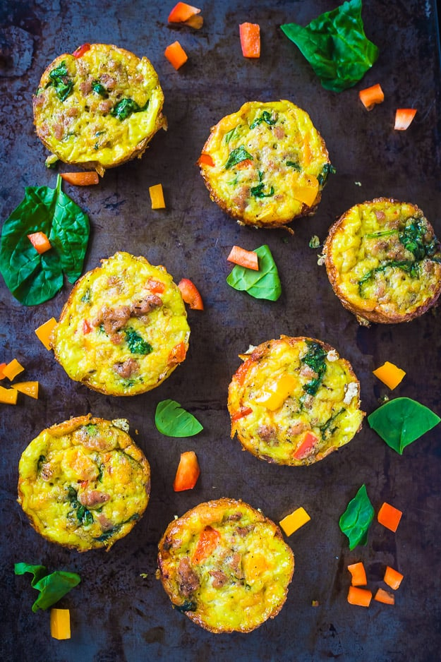 Paleo Breakfast Egg Muffins Gal On A Mission