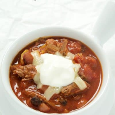 Shredded Beef Chili