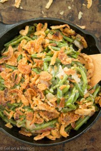 This really is the BEST green bean casserole recipe! No need for canned soups!