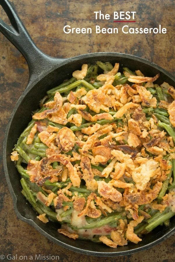 This really is the BEST green bean casserole recipe! No need for ...