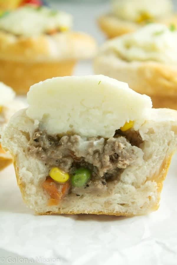 Mini Shepherd's Pie - Gal on a Mission