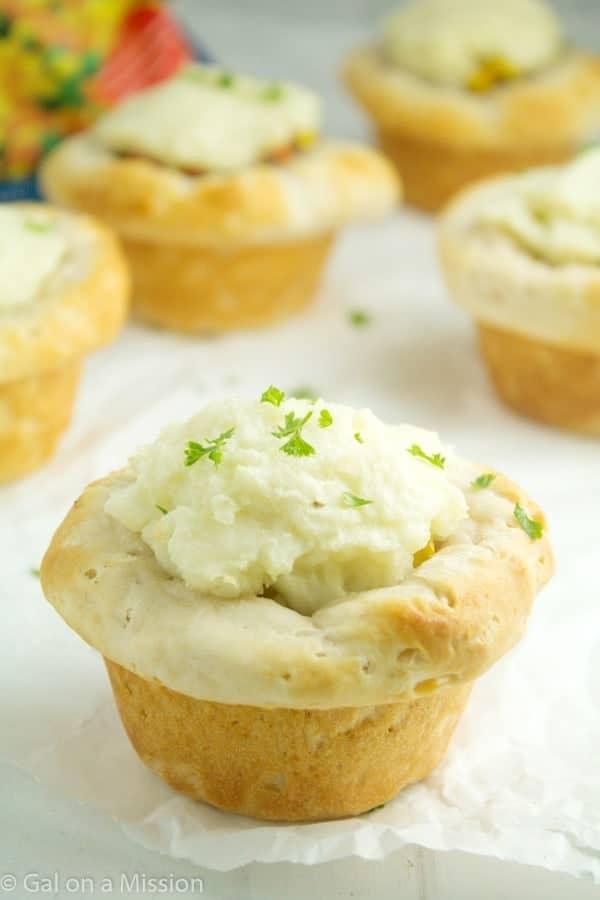 Mini Shepherd's Pie
