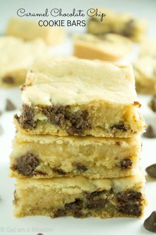 Christmas Chocolate Bars Chocolate Chip Cookie Bar
