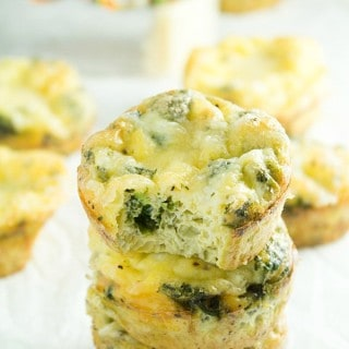 Cheesy Breakfast Egg Muffins + Giveaway