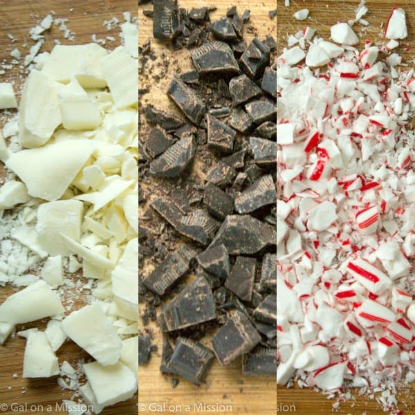 A mouthwatering peppermint bark recipe that is really easy to make and perfect for the holidays!