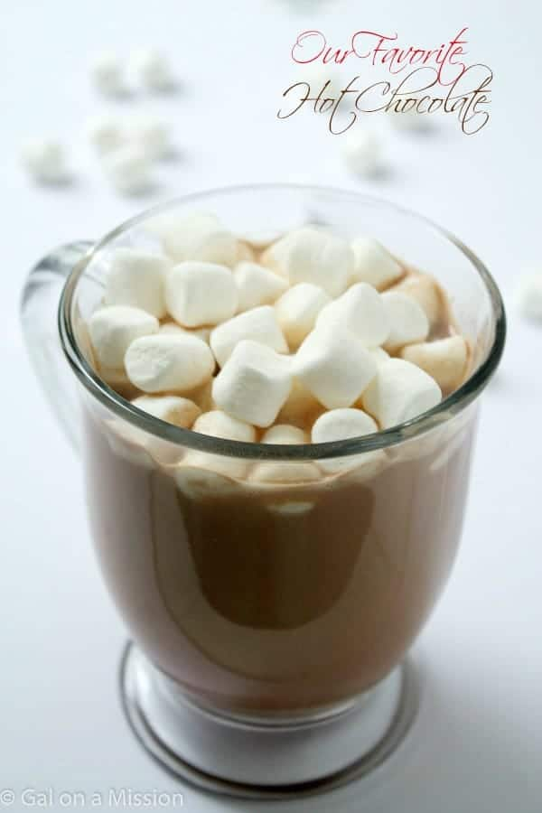 A delicious hot chocolate recipe that is so easy to make and absolutely delicious! You'll love it our favorite secret ingredient
