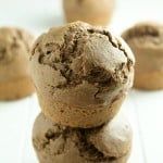 A delicious dark chocolate muffin recipe that is perfect for those hectic and busy morning!