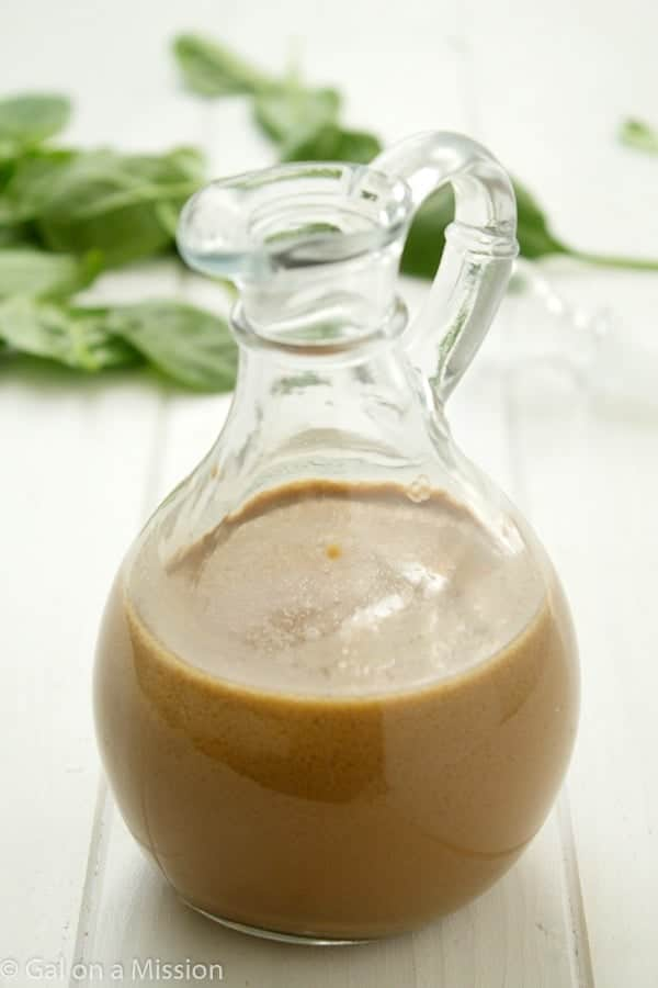 A versatile healthier balsamic vinaigrette recipe that can be whipped up in no time! So many better than store-bought dressings!