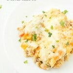 Easy Sausage Breakfast Casserole - Incredibly easy and tasty, the whole family will love it!