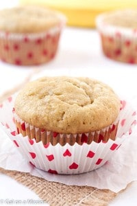 Banana Bread Muffins - Got bananas?? Incredibly moist, finger-licking and great for on-the-go! It's really my favorite banana bread muffin recipe! Always a hit with the kids!