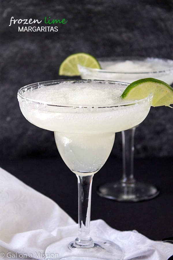 Frozen Margaritas - We all love frozen margarita recipes on a hot ...