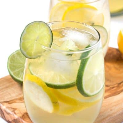 Lemon-Lime Sangria: A refreshing and unique spin on sangria! Not too sweet and absolutely delicious!