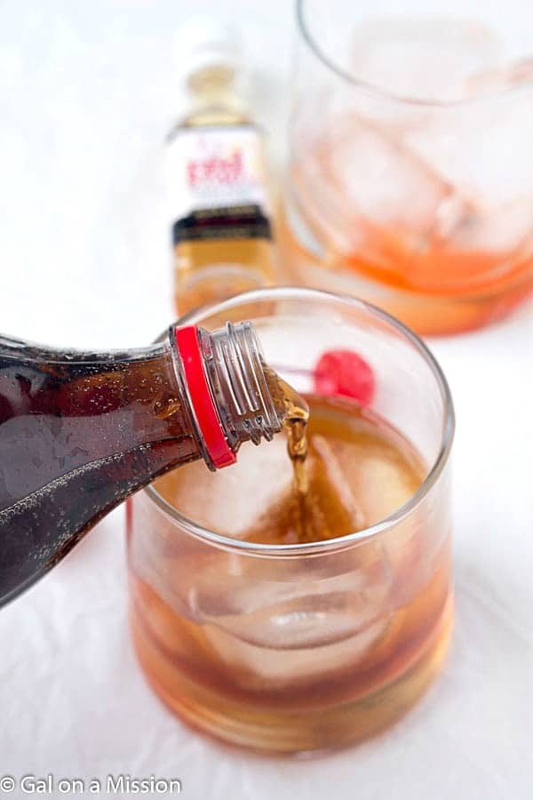 Adult Cherry Coke - Infused with the right amount of cherry flavorings! Let's crack open an ice cold coke and enjoy it with friends and family!