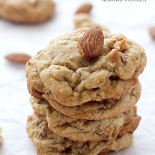 Soft-Baked Chewy Almond Cookies