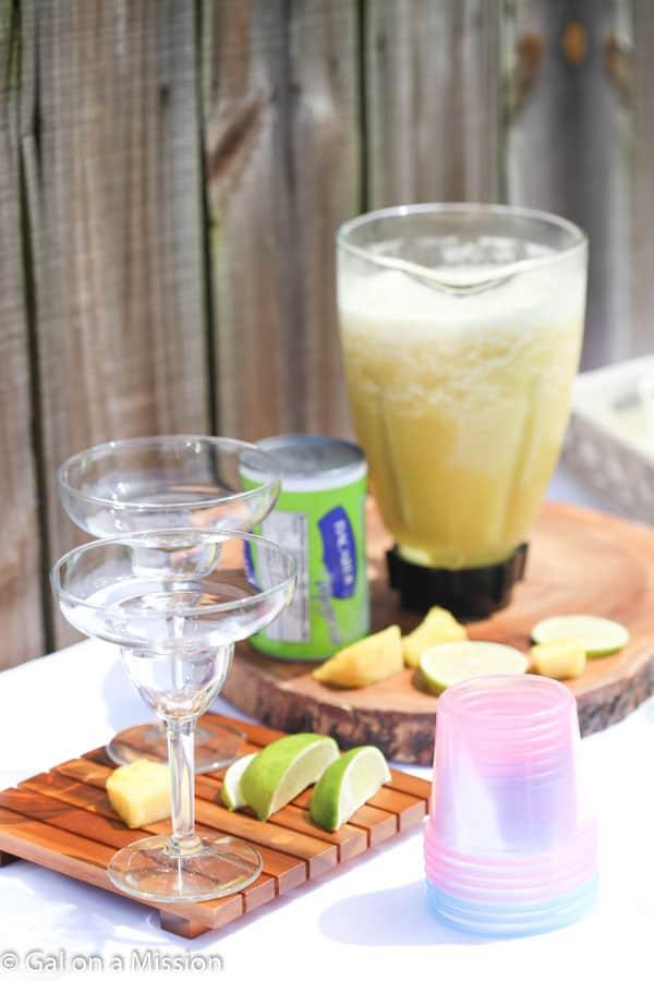 Pineapple Margarita + BACARDI® Mixers Entertaining