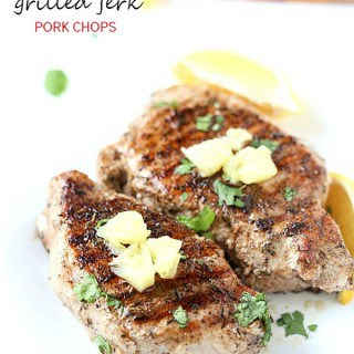Grilled Jerk Pork Chops – Flavorful and delicious! Perfect as a main ...