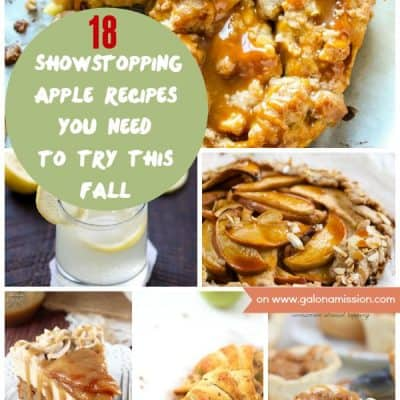 Showstopping Apple Recipes You Need to Try This Fall - From apple cheesecake dip to cheddar apple biscuits, you name it - we have it here!