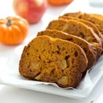 Apple Pumpkin Bread (No Yeast) - Moist and tender with the perfect pumpkin, pumpkin spice, and apple flavor! Made in no time without any yeast.