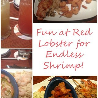 Fun at Red Lobster for Endless Shrimp!