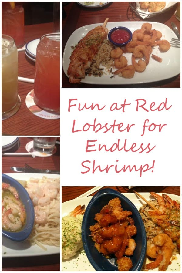 Fun at Red Lobster for Endless Shrimp