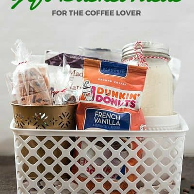Gift Basket Ideas for the Coffee Lover - Shopping for a hard to shop for family or friend? Do they enjoy coffee? Make them an incredibly tasty gift basket for a coffee lover!
