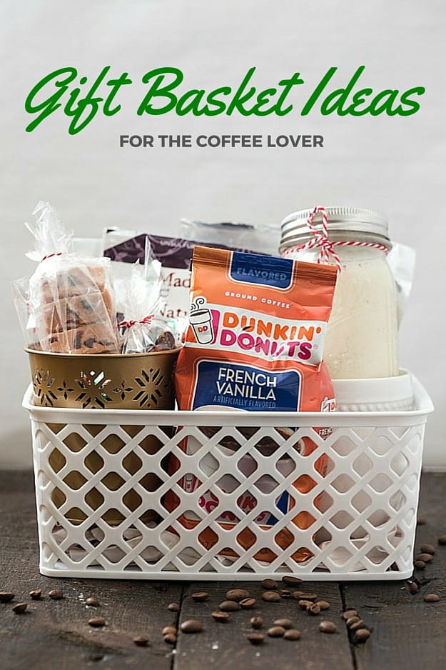 Gift basket ideas for the coffee lover gal on a mission gift basket ideas for the coffee lover shopping for a hard to shop for family negle Images