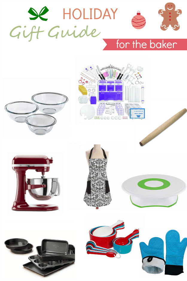 Holiday Gift Guide for the Baker - A collection of 15 gifts any baker will enjoy! From the basics to the wants any wishlist may have!