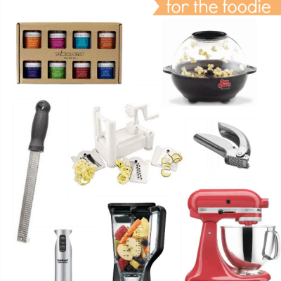 Holiday Gift Guide for the Foodie - A collection of 15 gifts a foodie will enjoy! From the basics to the items on every wishlist.