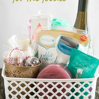 Spa Gift Basket Ideas for the Foodie