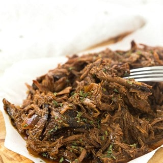 4-Ingredient Slow Cooker Dr. Pepper Pulled Pork