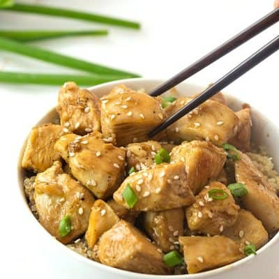Healthy Sesame Chicken