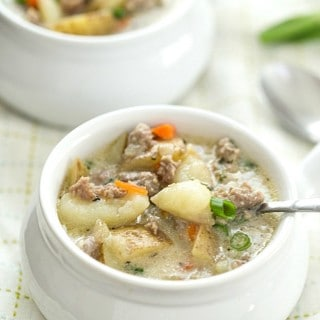One-Pot Creamy Sausage and Potato Soup