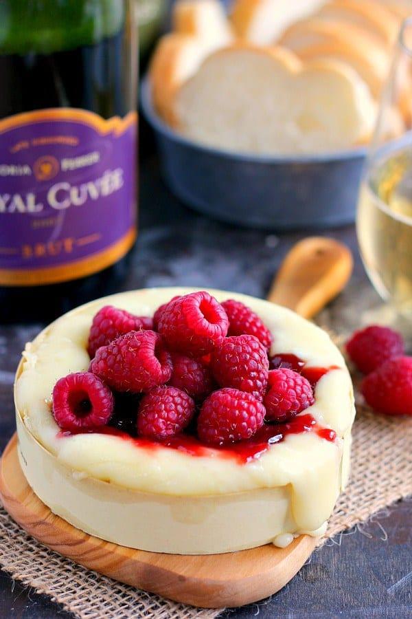 Raspberry Bake Brie