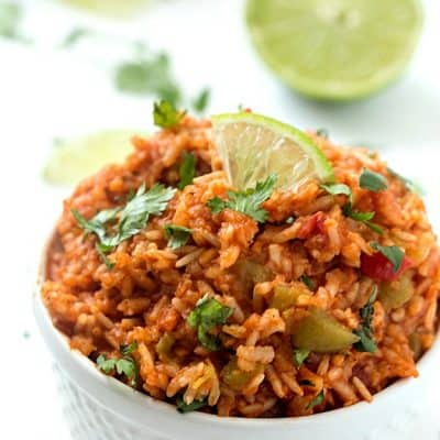 Slow Cooker Mexican Rice (Spanish Rice)