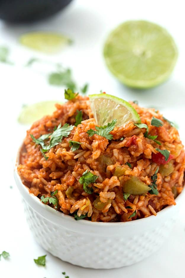 Slow Cooker Mexican Rice (Spanish Rice) - Have you ever wanted to know ...