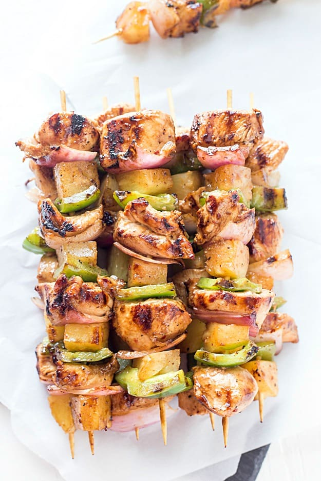Easy Teriyaki Chicken Amp Pineapple Kabobs Gal On A Mission