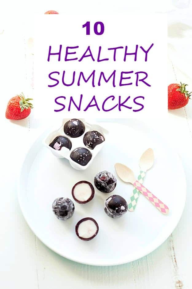 Healthy Summer Snacks - Who doesn't love a delicious summer snack? Here are the top healthy summer snacks everyone loves! These snacks are perfect for adults or kids. There are so many to choose from!