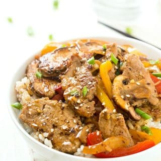 Quick and Easy Pork Stir Fry