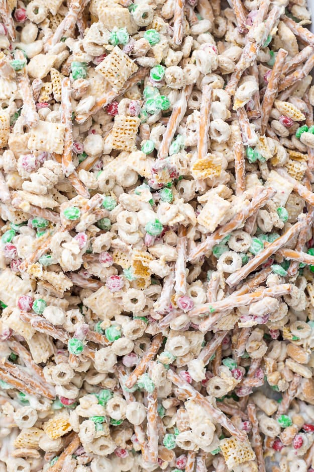 christmas crack chex mix - Christmas Crack Recipe Chex