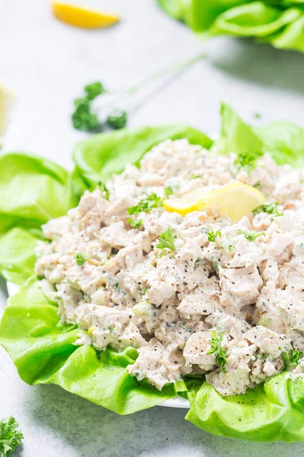 Easy Low Carb Chicken Salad Gal On A Mission