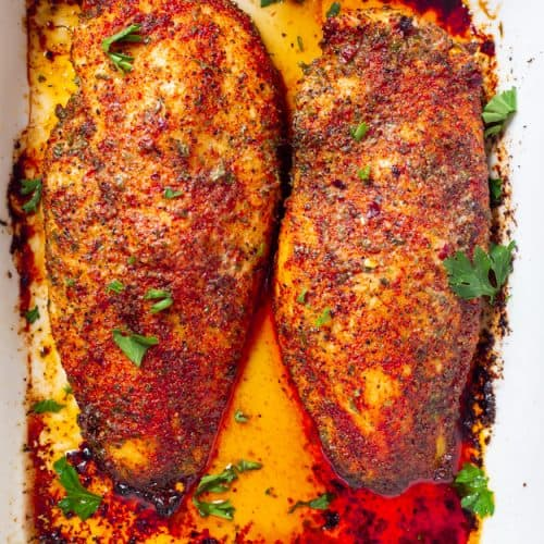 perfect oven baked chicken breast gal on a mission