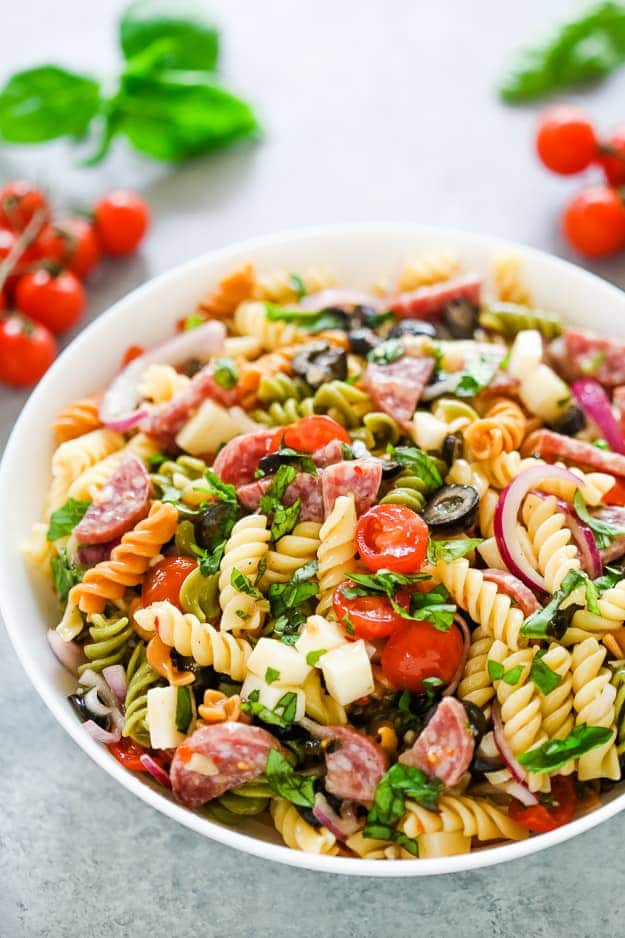 Italian Pasta Salad Gal On A Mission