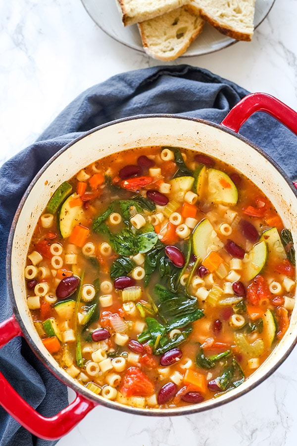 Minestrone Soup Gal On A Mission