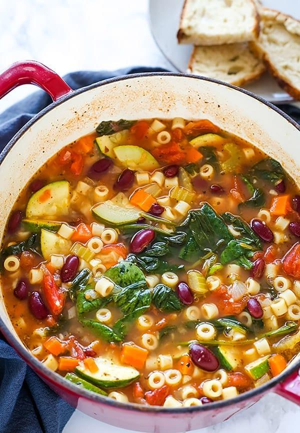 olive garden minestrone soup